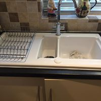 Ceramic Sink Install